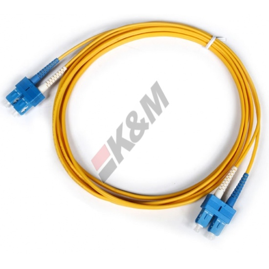 SC PC to SC PC Duplex 3.0mm PVC 9/125 Singlemode Patch cord