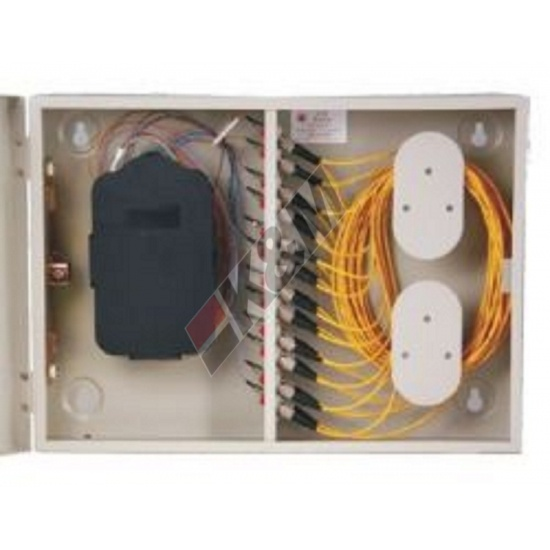 Outdoor Fiber optic termination box 12 Fibers