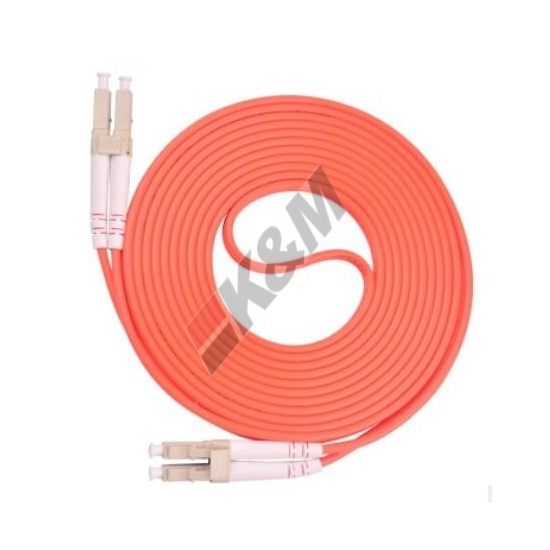 LC /PC to LC/PC MM OM1 DUPLEX Fiber Optic Patch Cord