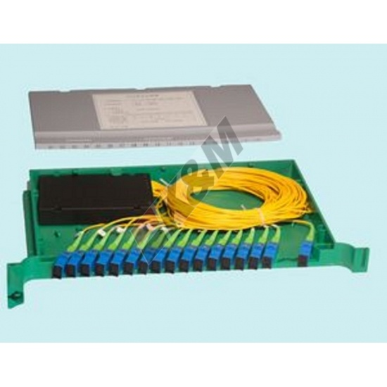 Modular Installation 1x16 Tray Type Fiber Optic Splitter