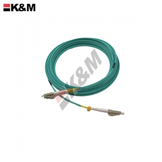 LC /PC to LC/PC OM3 Fiber Optic Patch Cord 3M