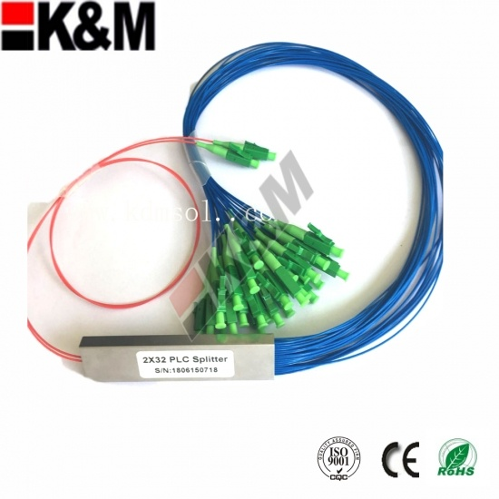 2x32 mini 2x32 PLC  Fiber Optic Splitter