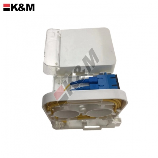FTTH Fiber optic termination box 2Ports