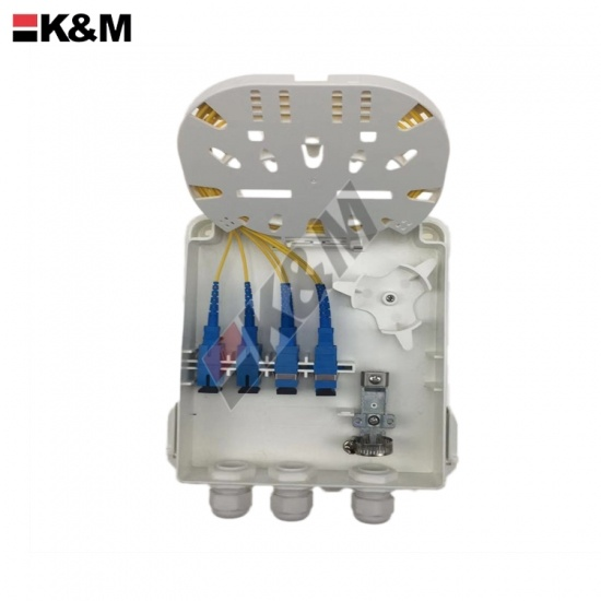 FTTH Fiber optic termination box 8Ports SC SX