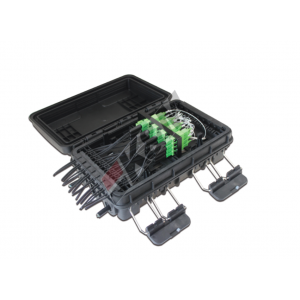 Fiber optic splitter modular box